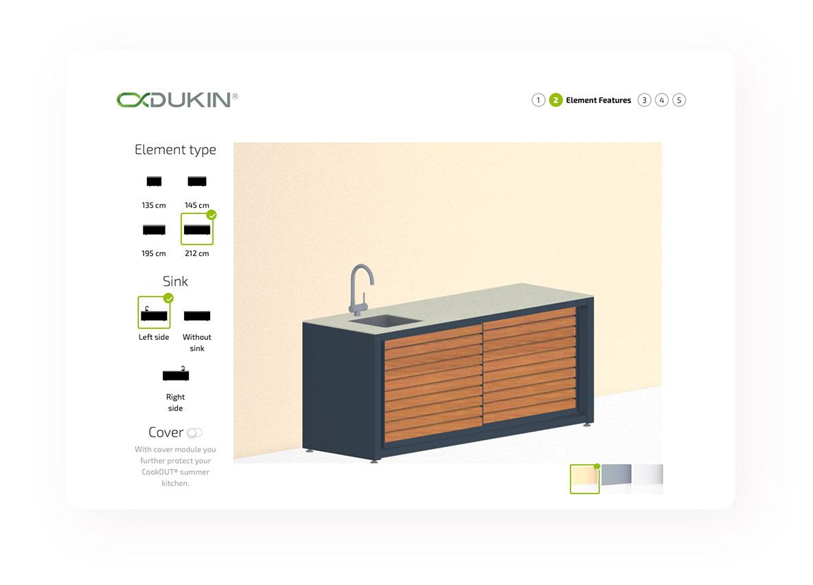Dukin Konfigurator